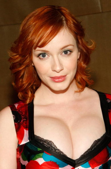 Christina Hendricks Breast