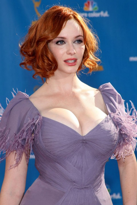 Christina hendricks red hair